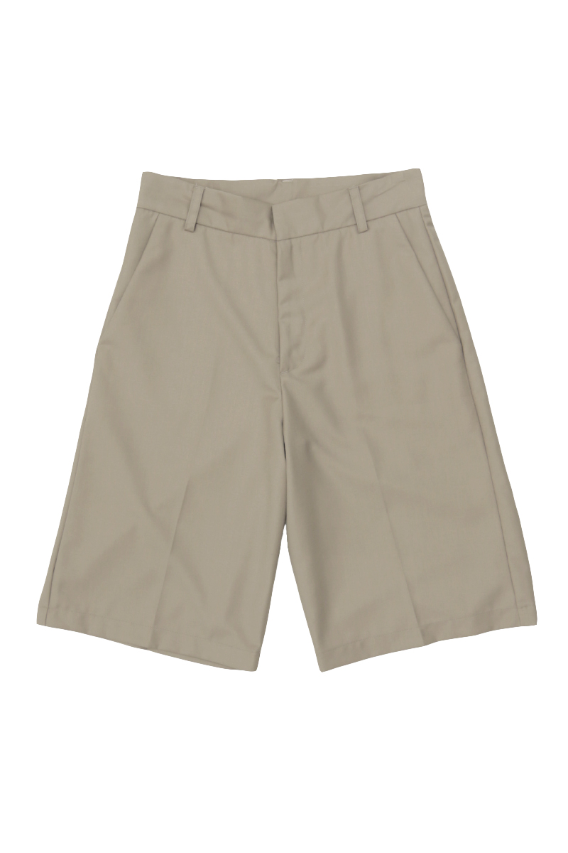 QUENTIN TAILORED SHORTS IN TAUPE