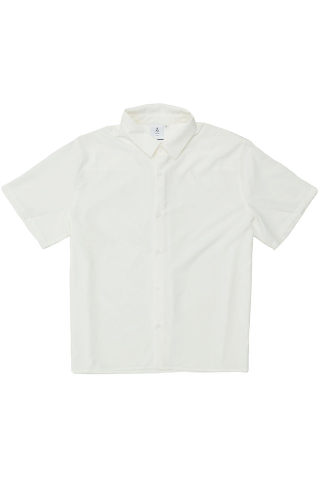 FINN SHORT SLEEVE SHIRT IN WHITE