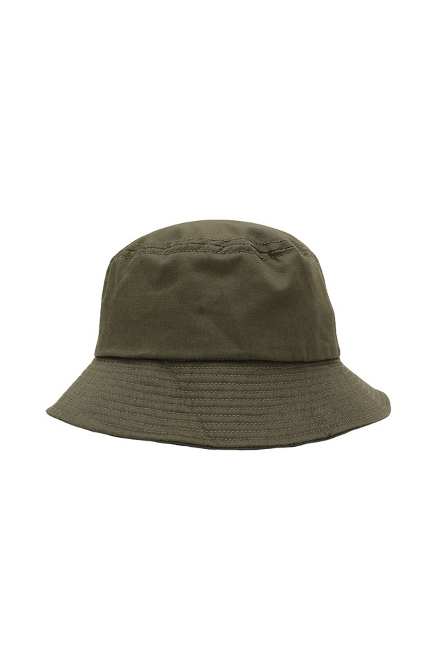 ARCADE TWILL BUCKET HAT IN OLIVE