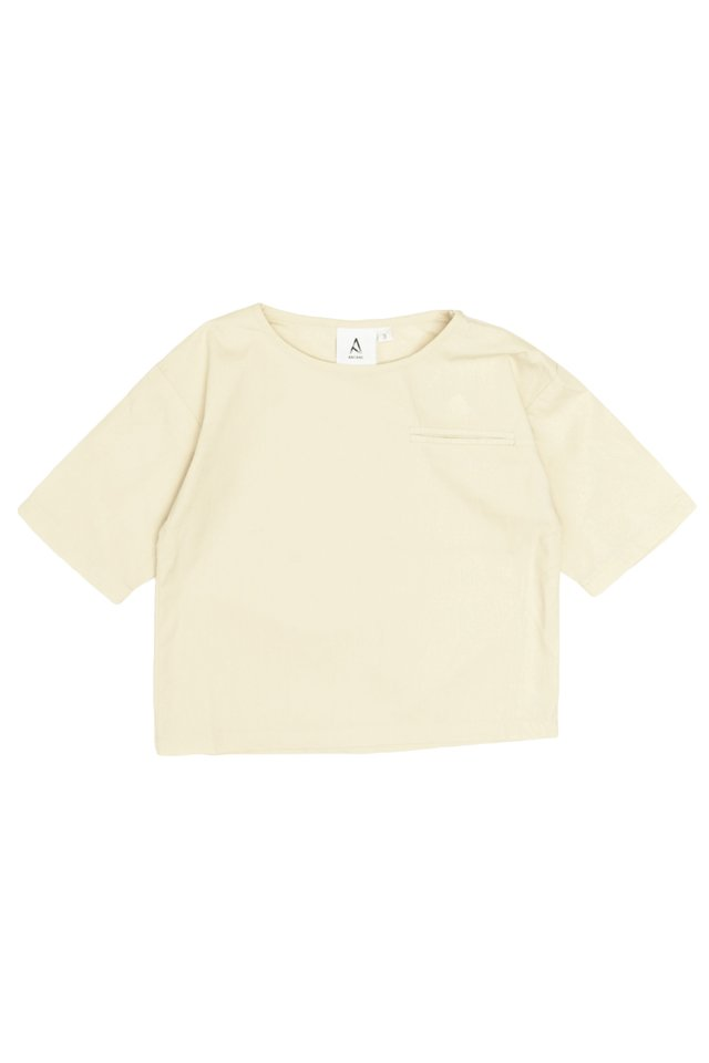 DILL POCKET TOP IN CREAM