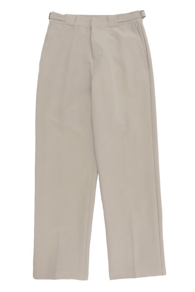 GARTH STRAIGHT-FIT TROUSERS IN GREY