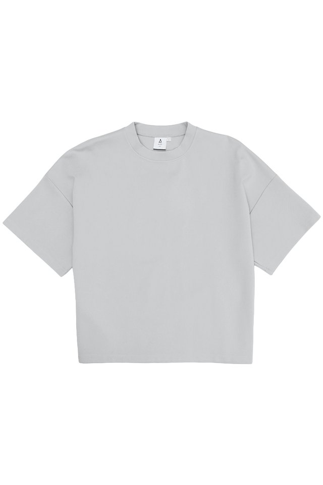 OTTO DROP SHOULDER TOP IN GREY