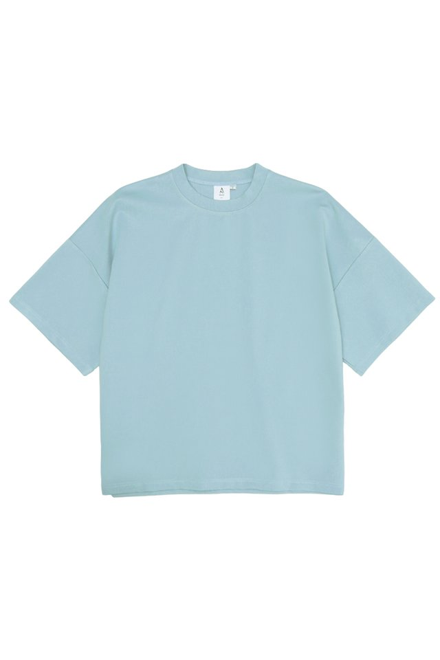 OTTO DROP SHOULDER TOP IN SKY